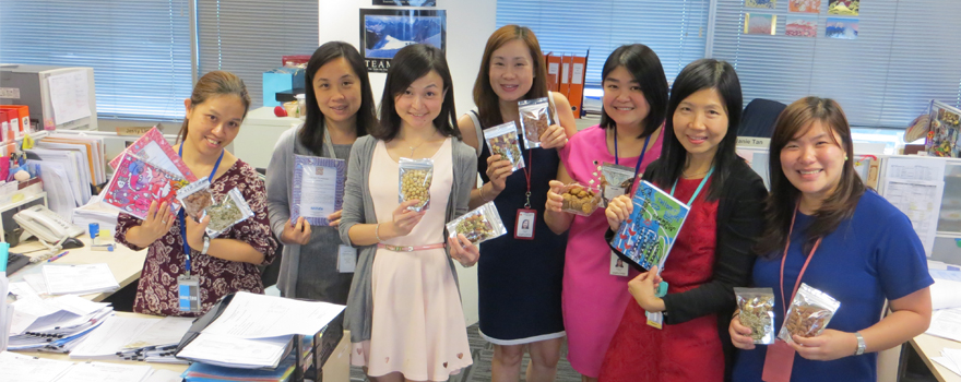 SCS Hearts for the MINDS Charity Sale - Sumitomo Chemical Asia Pte